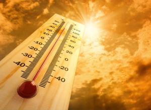 temperaturas elevadas