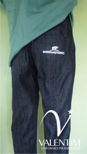 Calça de uniforme Megatorc