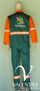 Uniforme VRD - costas
